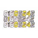 "Adesivi da Corsa ""Stikers 06-0210"" - Overside Hardwear"