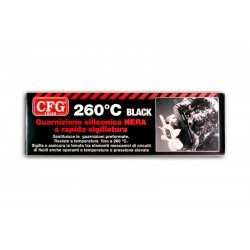Guarnizione Siliconica Alta Temperatura CFG - Nera