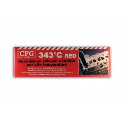 Guarnizione Siliconica Alta Temperatura CFG - Rossa